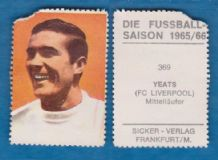 Liverpool Ron Yeats Scotland 369 (D)